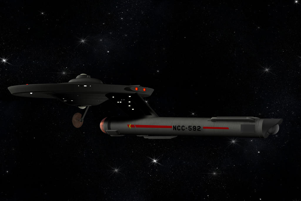 2247-2321 USS Carson NCC-592 by TrekkieGal