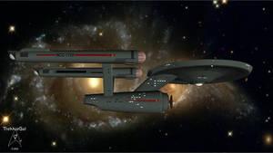 2245-2385 USS Enterprise NCC-1701
