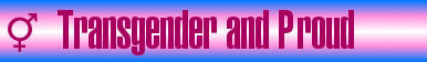Transgender and Proud Stamp by TrekkieGal