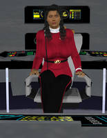 Captain Candice Mathis by TrekkieGal