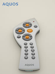 Sharp Aquos TV Remote Concept