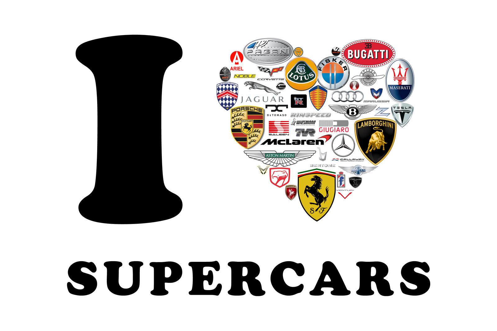I Love Supercars By Deserker On Deviantart