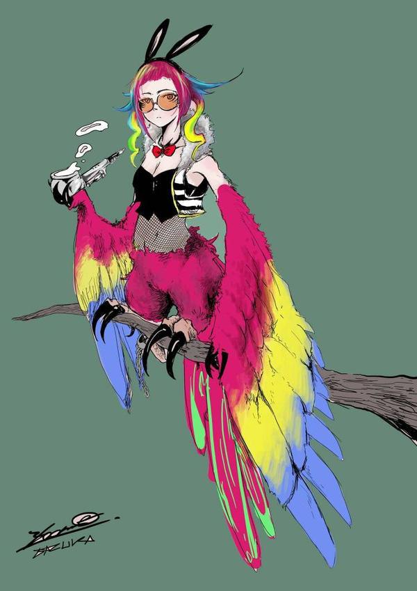 Parrot Harpy