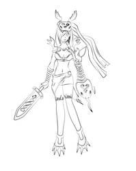 Mervamon cosplay (Nene Amano - Digimon) by AngelJShikamaru
