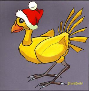 Merry Christmas Chocobo FFVII