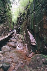 Franconia NH Flume Gorge 2007