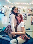 Two school girl!