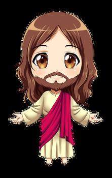 Jesus Chibi (COMMISSION)