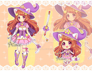 [CLOSED] AUCTION - CUTE WITCH ADOPTABLE by KARIS-coba