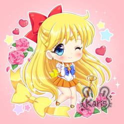 Sailor Venus Chibi by KARIS-coba
