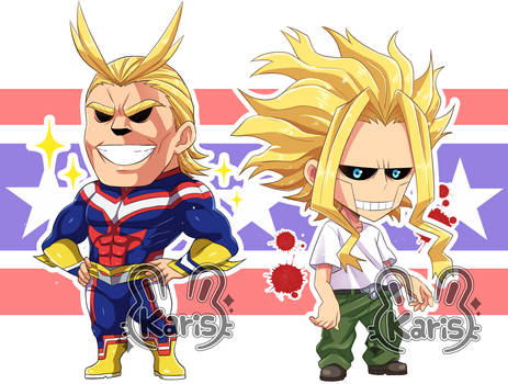 All Might-Boku No Hero