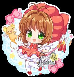 Sakura Chibi by KARIS-coba