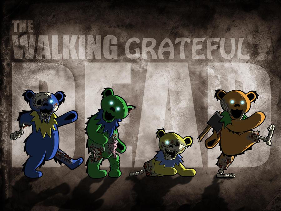 Grateful Dead Bears Converse Shoes