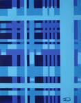 Perpendicular Blue 1