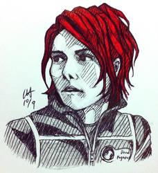 Gerard Way 4 by Kayalina
