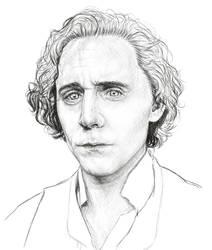 Tom Hiddleston wip by Kayalina