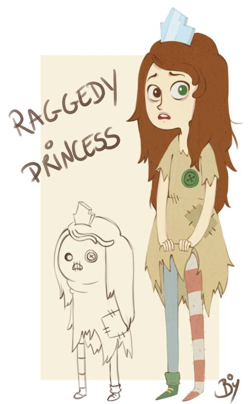 Raggedy Princess by Cheeky-Bee