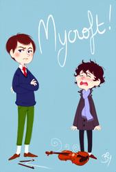 Mycroft by Cheeky-Bee