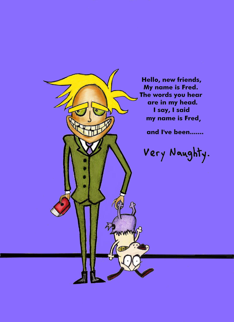 Courage the cowardly dog wallpaper fred - photo#16