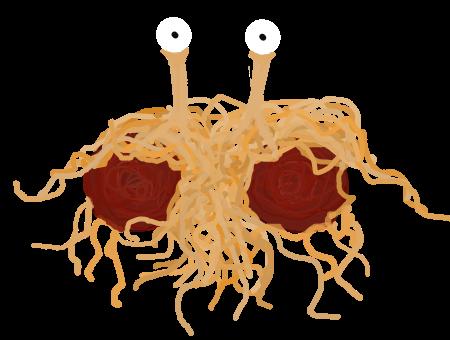 Flying Spaghetti Monster by SARDONlCUS