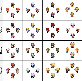 Pokemon Main Character Sprites 127050918