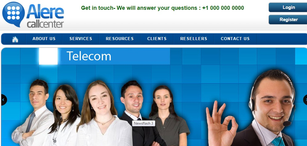 Buy Call Center Website Template Lucknow by buytemplate on DeviantArt