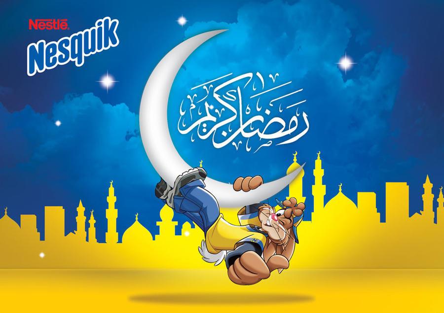 Basé sur l'ordre alphabétique, tout ce qui vous passe par la tête. - Page 3 Nesquik_ramadan_by_Hossamahmed