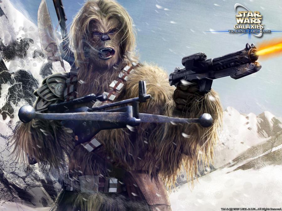 Wookiee warrior by Rogerrch