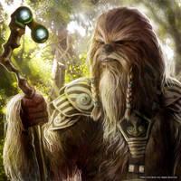 Wookiee Chiftain by Rogerrch