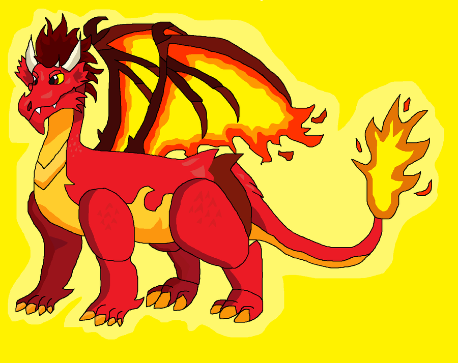 Inferno The Fire Dragon By Luner Tigher