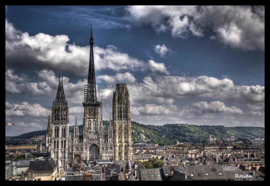Rouen Cathedral by gotenkun