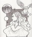 Inktober Day 6- The Labyrinth