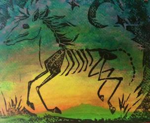 Night Runner by SusanneCarrera