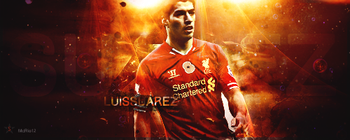Suarez- Liverpool by McRio