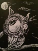 Oscar the Owl by johnrego96