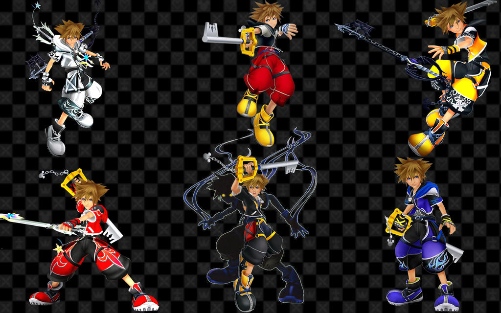 Kingdom Hearts 2 Drive Forms by thealienamongus on DeviantArt