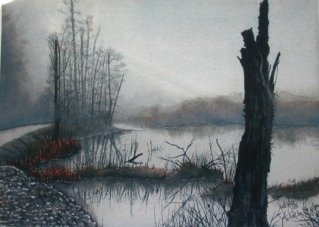 Misty Solitude by judylee