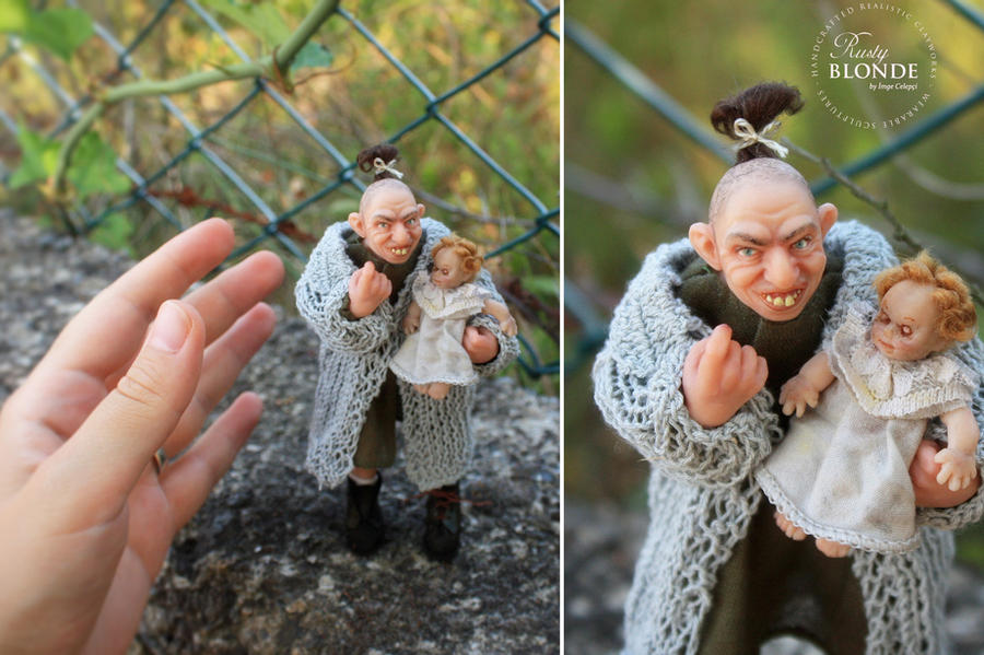 Pepper ( American Horror Story - TV Series ) doll by imge on