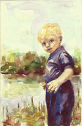 River Boy Color