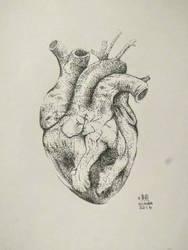 Heart Tattoo Dot Design by etheet