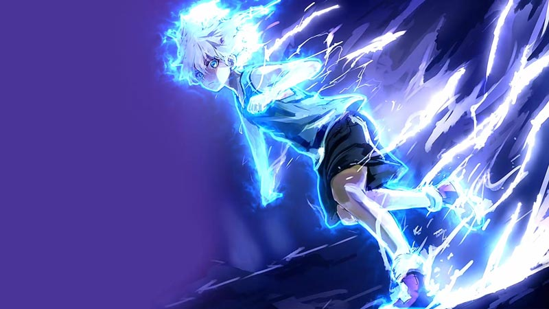 Killua Electric Nen Transmutation Wallpaper Engine by ...
