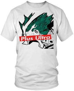 Anime T-Shirt My Hero Academia Plus Ultra Anime
