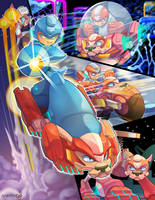 Megaman Tribute by Pertheseus