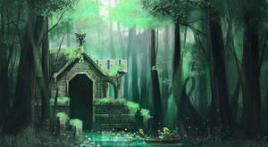 Swamp Temple by Pertheseus