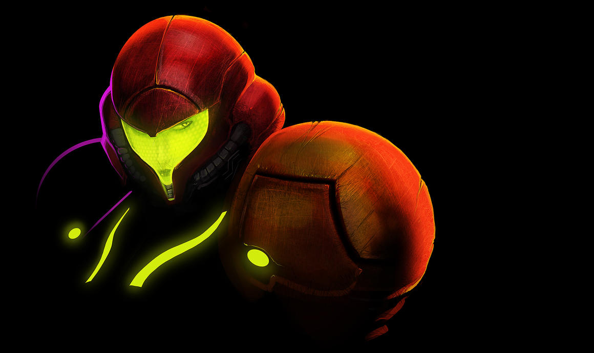 SAMUS WALLPAPER by Pertheseus