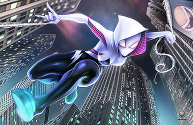 Spidergwen by Pertheseus