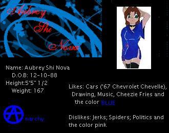 Aubrey ID by Aubrie2007