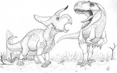 Nasutoceratops and Teratophoneus