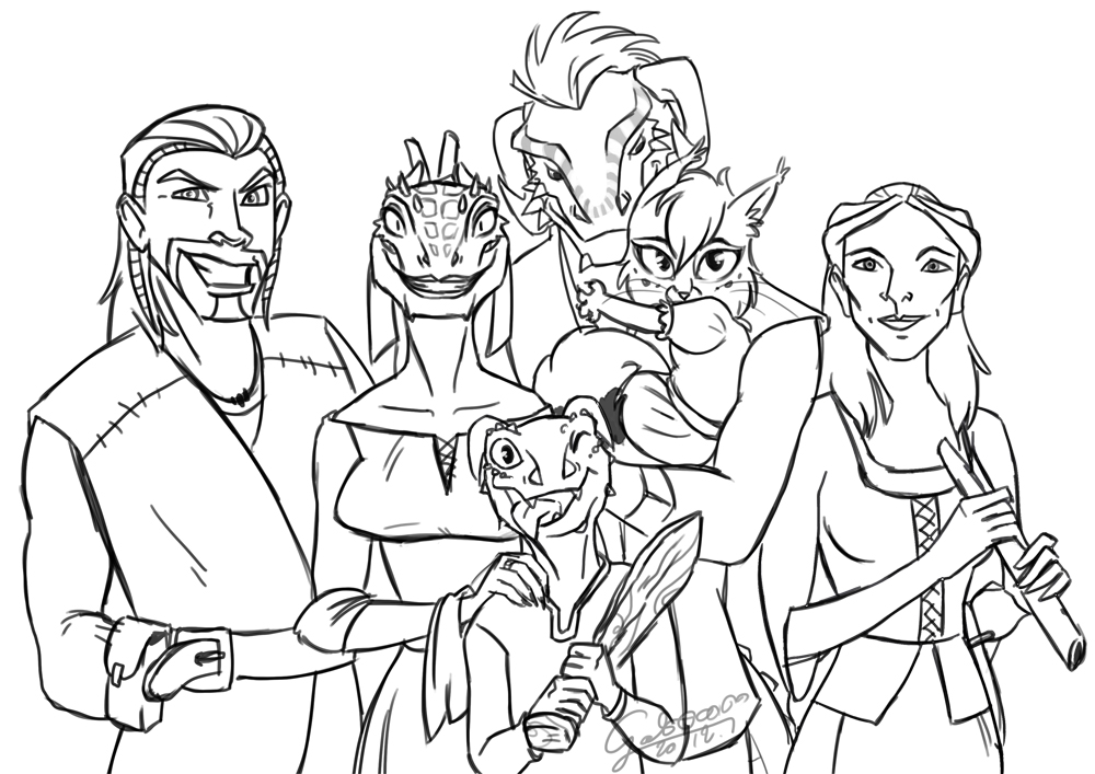 female dragonborn coloring pages - photo#48
