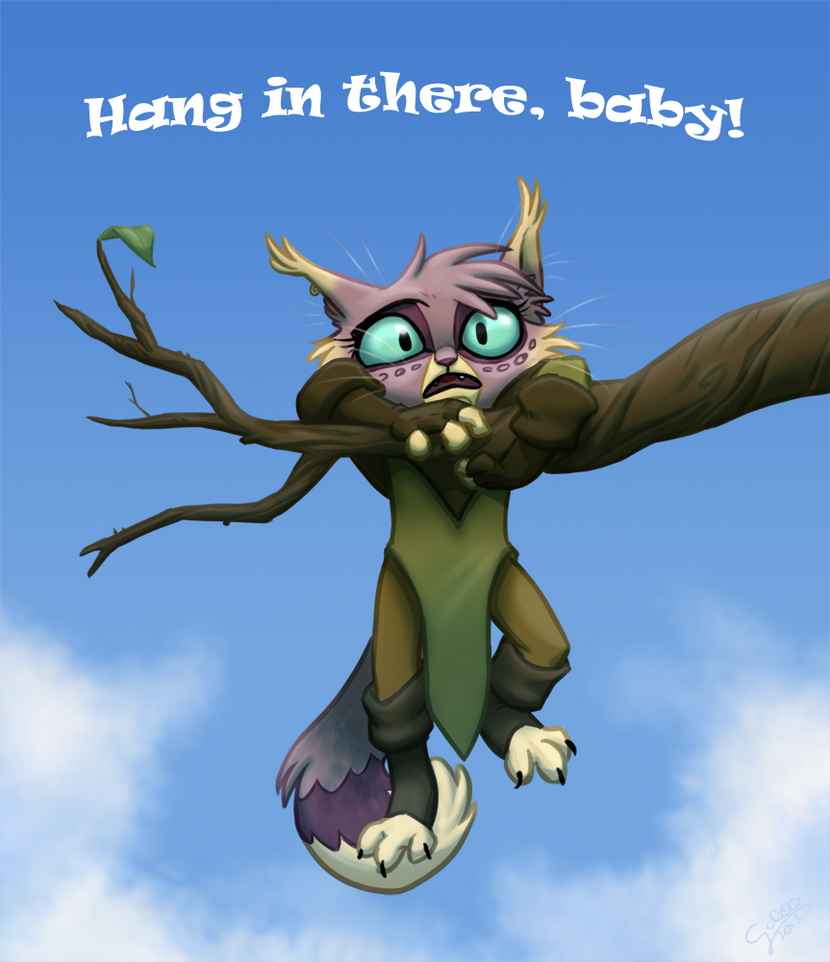 clip art hang in there baby - photo #18